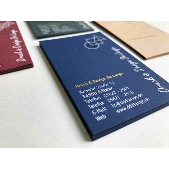 Visitenkarte Deluxe